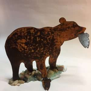 Rusted Metal Display Pieces