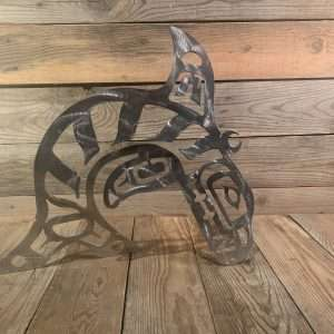 Brushed Steel First Nations Orca