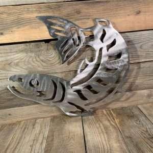 Brushed Steel Salmon