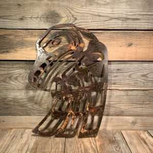 Rusted Metal First Nations Raven