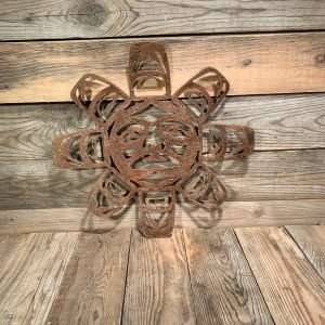 Rusted Metal First Nations Sun