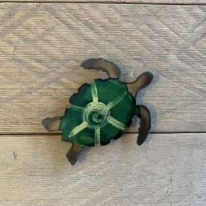 Hand Painted Magnet - Turtle