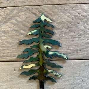 Hand Painted Wall Hook - Single Tree