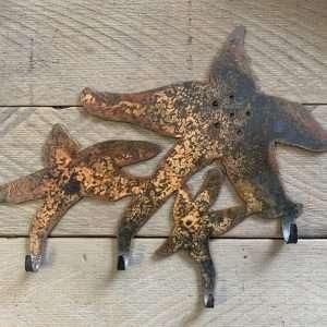 Wall Hook - Rusted Starfish