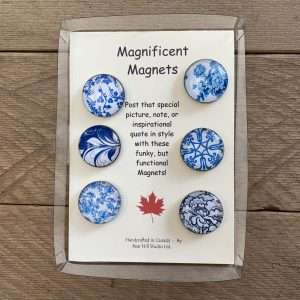 Blue Magnificent Magnets