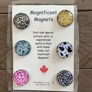 Magnificent Magnets Animal Print